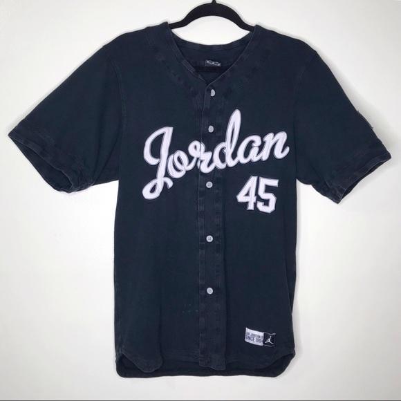 Vintage Michael 45 Baseball Jersey
